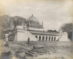 The main tomb of Mir Raja Ali Khan, from the west, Gurramkonda, Cuddapah District